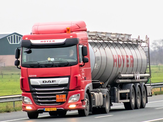 DAF XF106 spacecab, from Hoyer, Holland.