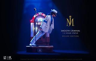 傳奇經典45度傾斜舞步!Pure Arts 重磅推出「麥可傑克森 犯罪高手」1/3比例雕像 一般版/豪華版