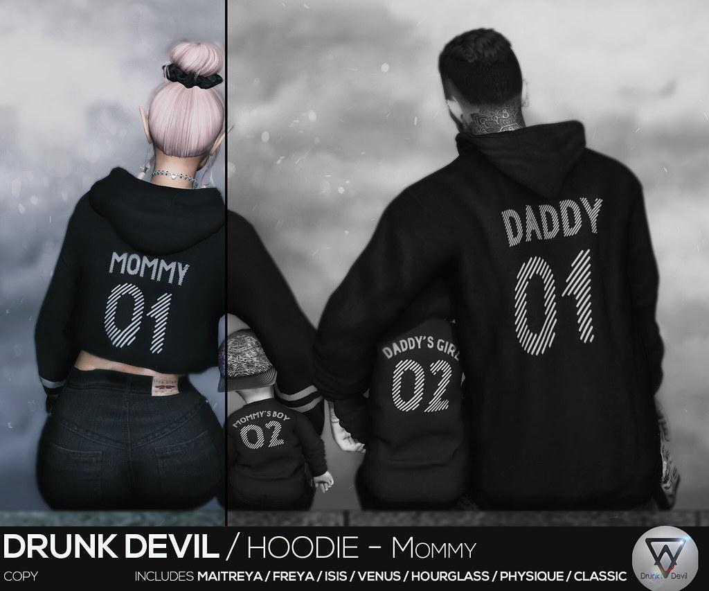 Drunk Devil / Hoodie - Mommy
