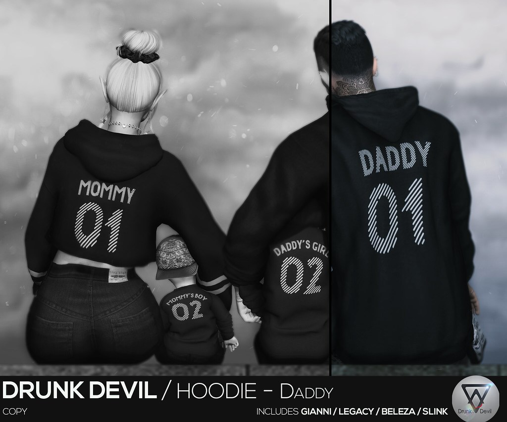 Drunk Devil / Hoodie - Daddy