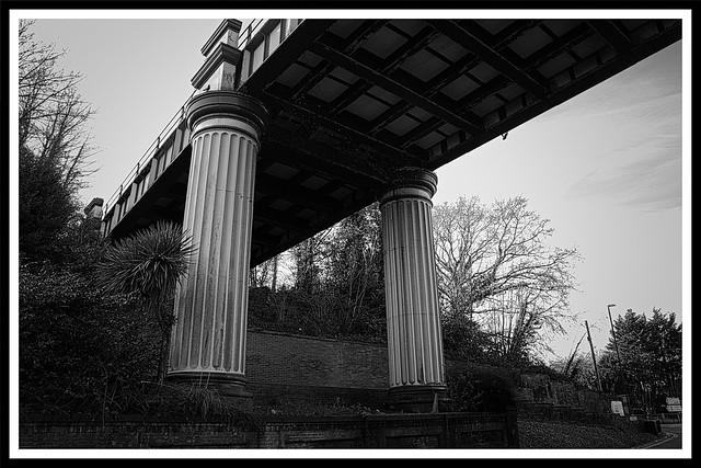 The bridge makes a comeback.