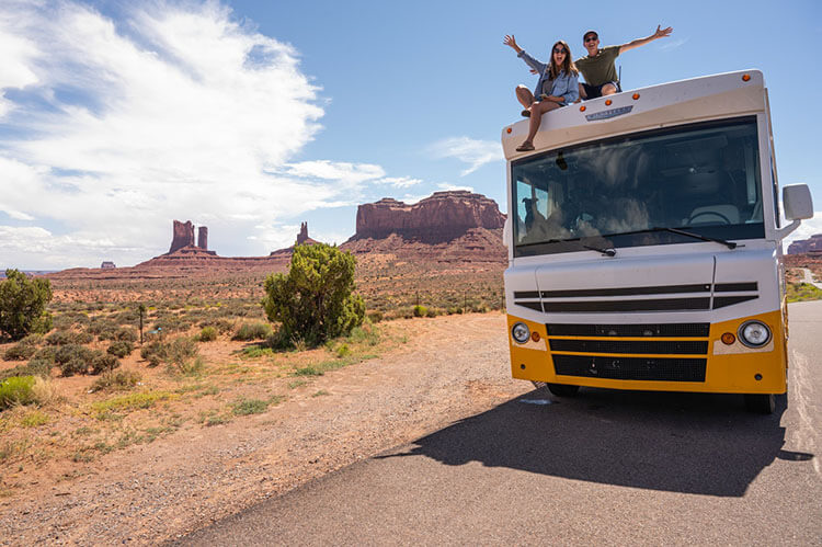 Make a reservation for rv camping