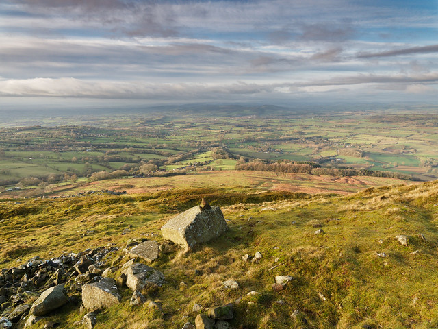 Top Clee hill