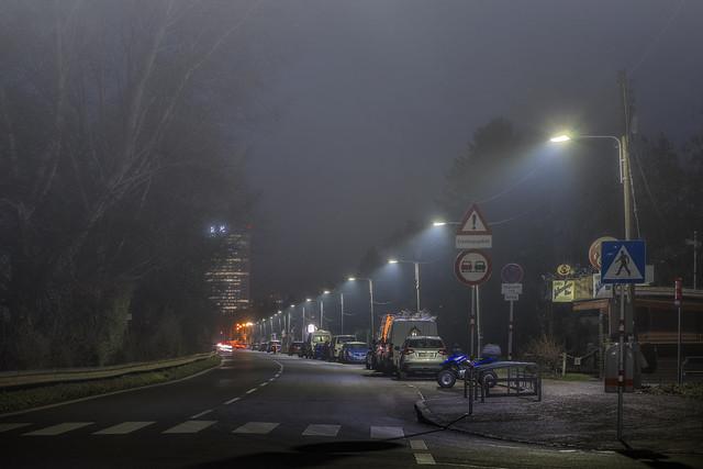 A little bit foggy