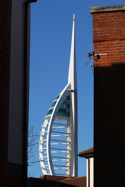 Spinnaker Tower, Portsmouth, January 22nd 2021