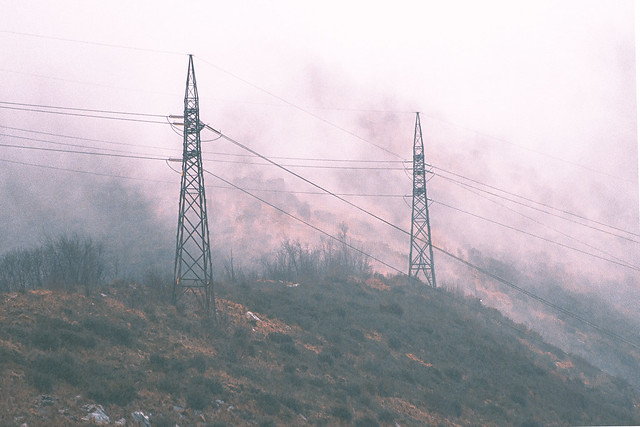 Antenna in fog