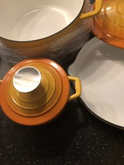 New pots and pan. Cast iron.