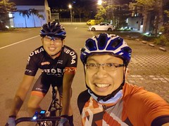 Night ride 22 Jan