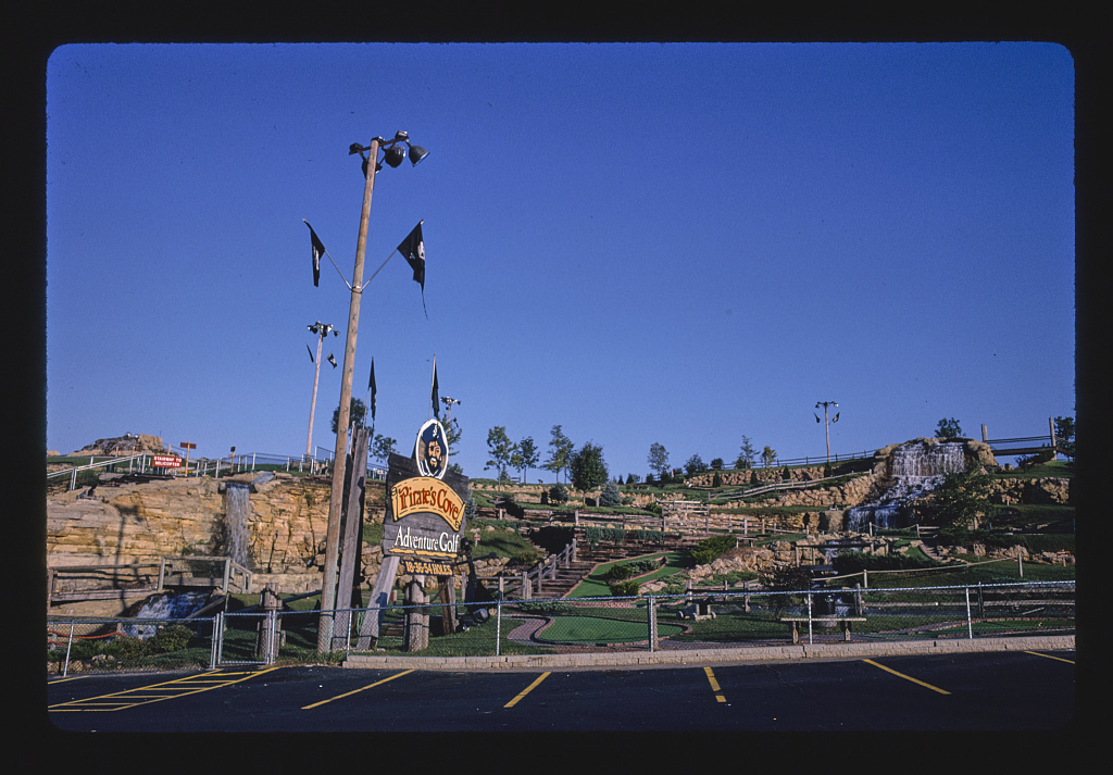 Overall Front, Pirate's Cove Adventure Golf Route 13, Wisconsin Dells, Wisconsin (LOC)
