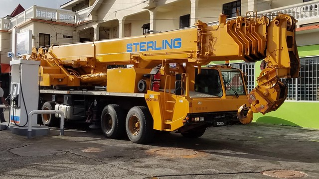 TJ3625 Tadano Mobile Crane