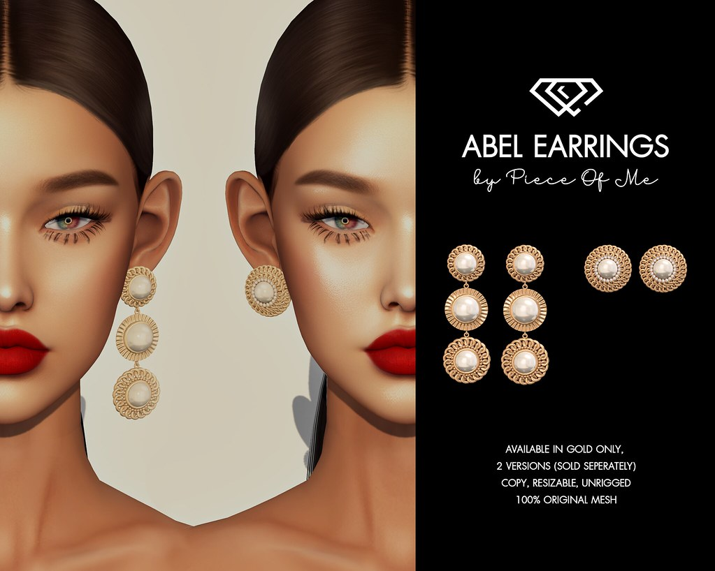 Abel Earrings @ Eclectic Event - January 24th, 2021