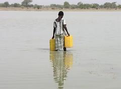 Fetching water, Burkina Faso
