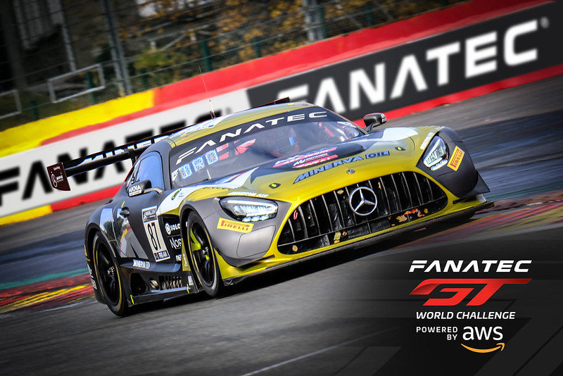 GT World Challenge Sponsored by Fanatec.