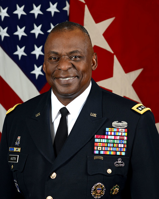 Retired Army Gen. Lloyd Austin