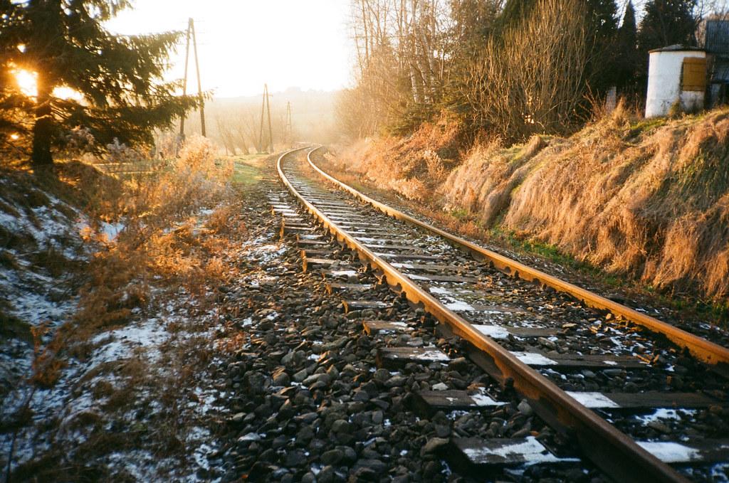 Kolej na zachód