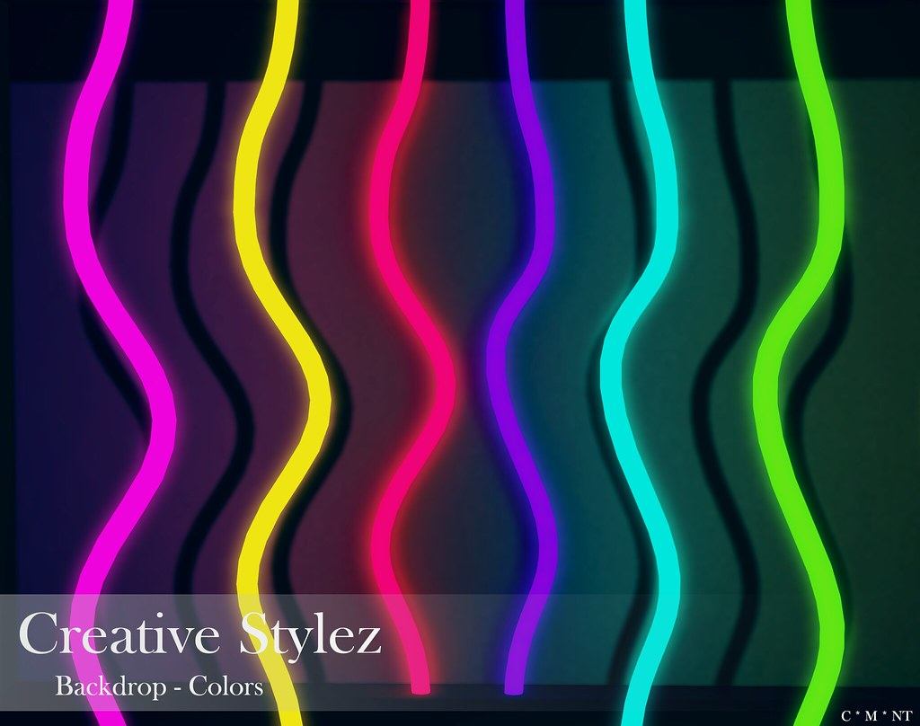 Creative Stylez – Backdrop & Poses – Colors