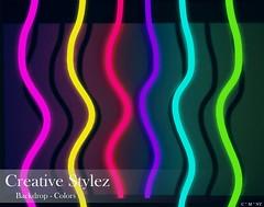 Creative Stylez - Backdrop & Poses - Colors