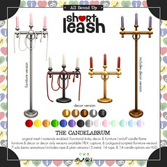 .:Short Leash:. The Candelabrum