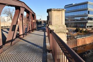 Webster Bridge over tne North Branch Chicago River