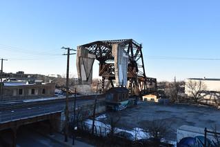 U.P. North Line Train Tracks, Chicago, IL USA