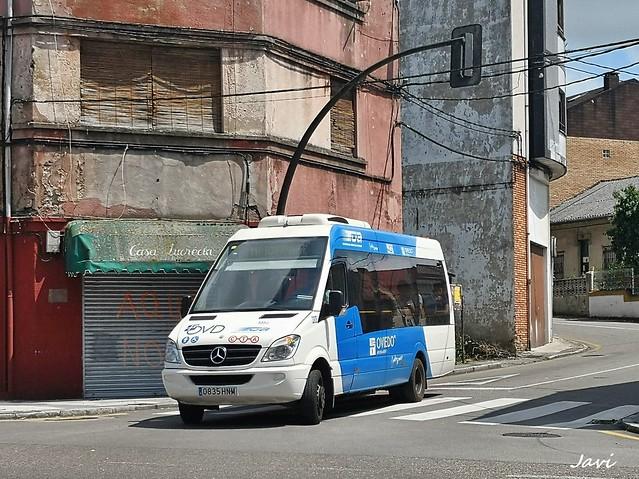 Mercedes Benz Sprinter City 3303 TUA Oviedo