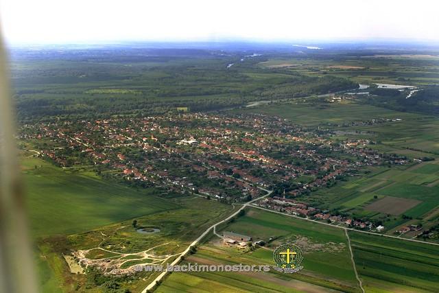 Monoštor iz vazduha 2007