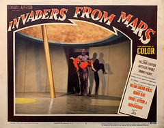 """Invaders from Mars"" (20th Century-Fox, 1953).  Original U.S. Lobby Card (No. 7)."