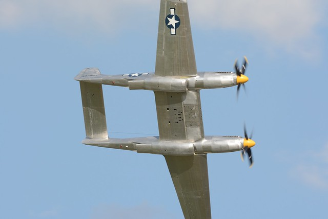 EAA2019Sat-0865a North American XP-82 Twin Mustang prototype 483887 N887XP
