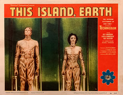 """This Island Earth"" (Universal Pictures, 1955). Original U.S. Lobby Card (No. 4)"
