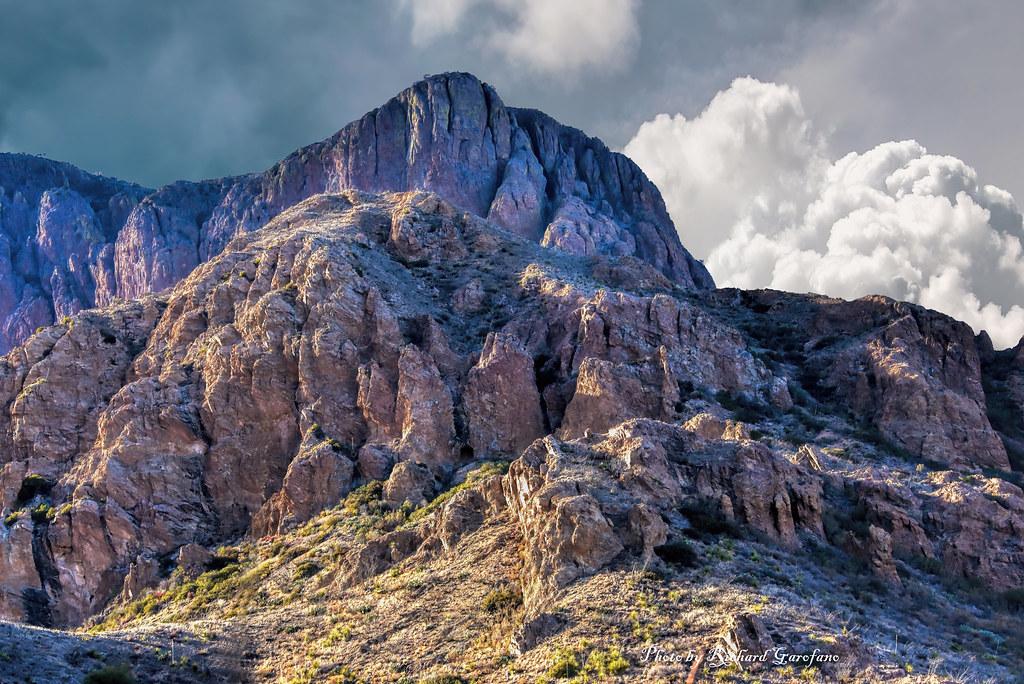 A mountain in the Chisos mountain range (explore)