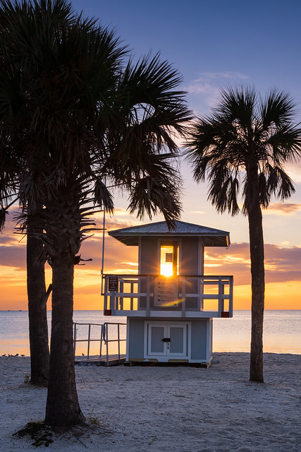 Sunset on the Gulf, Tarpon Springs, Florida