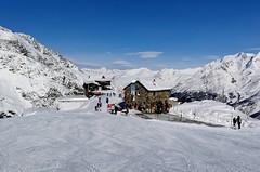 Občerstvení na Längfluh (2 870 m)