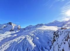 Pohled na ledovec z Längfluh