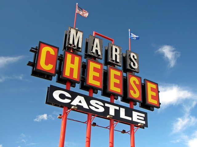 Mars Cheese Castle sign [04]