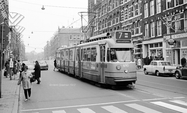 Straathalte in de Kinkerstraat
