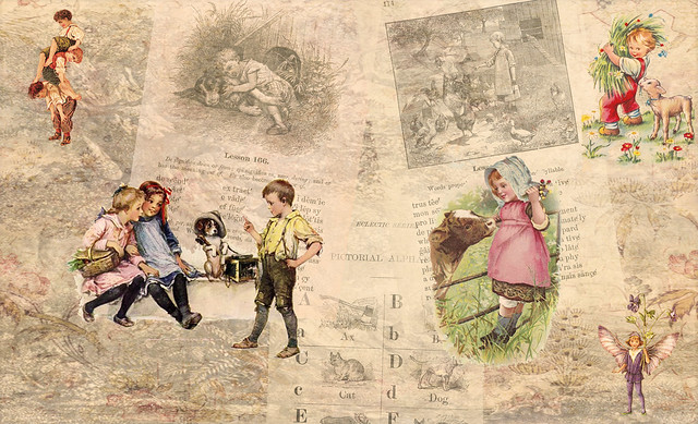 Children's Double Page