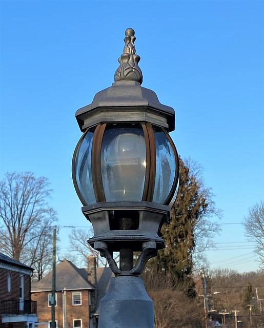 lamppost around the corner