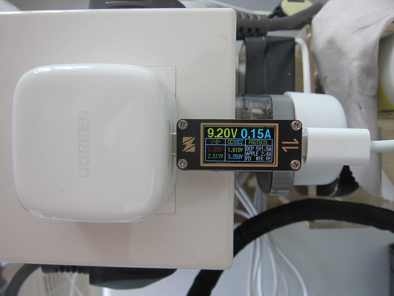 Ugreen 20W USB-C PD Charger - Measuring
