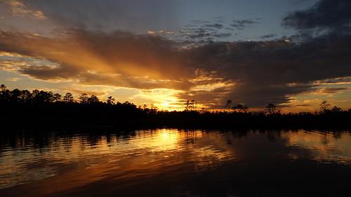 spectacularsunsetsandsunrises sunset sony sonyphotographing sonya58 cloudsstormssunsetssunrises sunsetsandsunrisesgold northcarolina fairfieldharbour northwestcreek