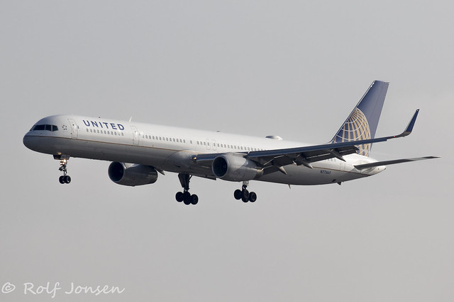 N77865 Boeing 757-300 United Airlines Los Angeles Airport KLAX 13.09-18