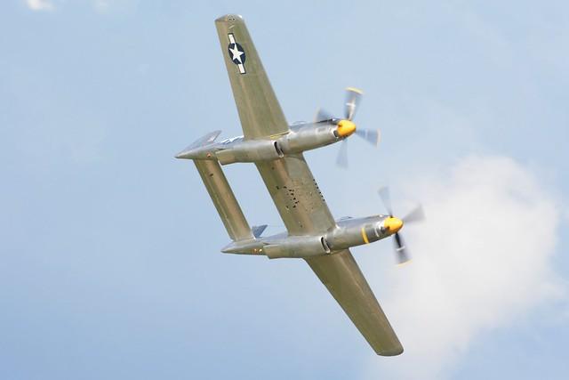 EAA2019Sat-0864a North American XP-82 Twin Mustang prototype 483887 N887XP