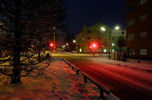 Munich - Red Snow
