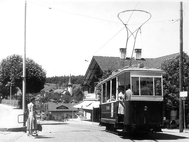 Trams de Spiez (Suisse)