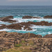 Merrillie posted a photo:Rugged South Pacific Seascape and Rocky Foreshore - Blanche Reserve at Birubi Beach, Port Stephens.