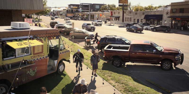 Location where the new Walker Texas Ranger is filmed