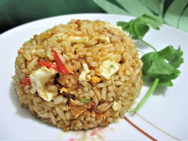 Sambal tumis bilis fried rice 1