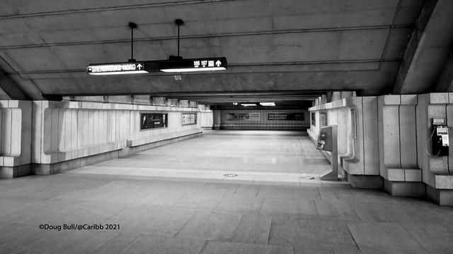 Station Langelier - Passageway
