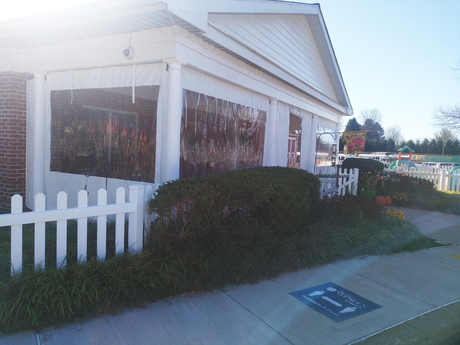 Curtains-Porch Enclosure