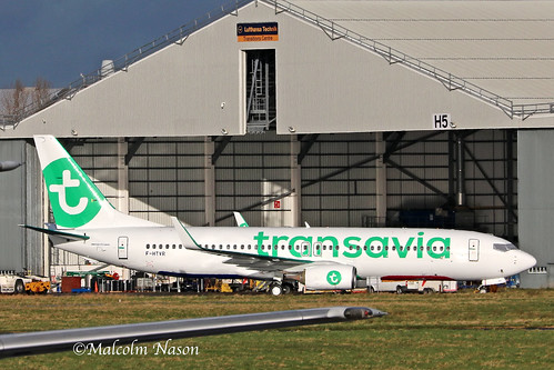 B737-86J F-HTVR TRANSAVIA FRANCE