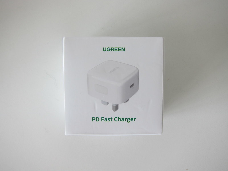 Ugreen 20W USB-C PD Charger - Box Front